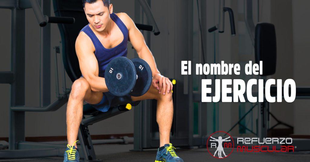 El Nombre del ejercicio