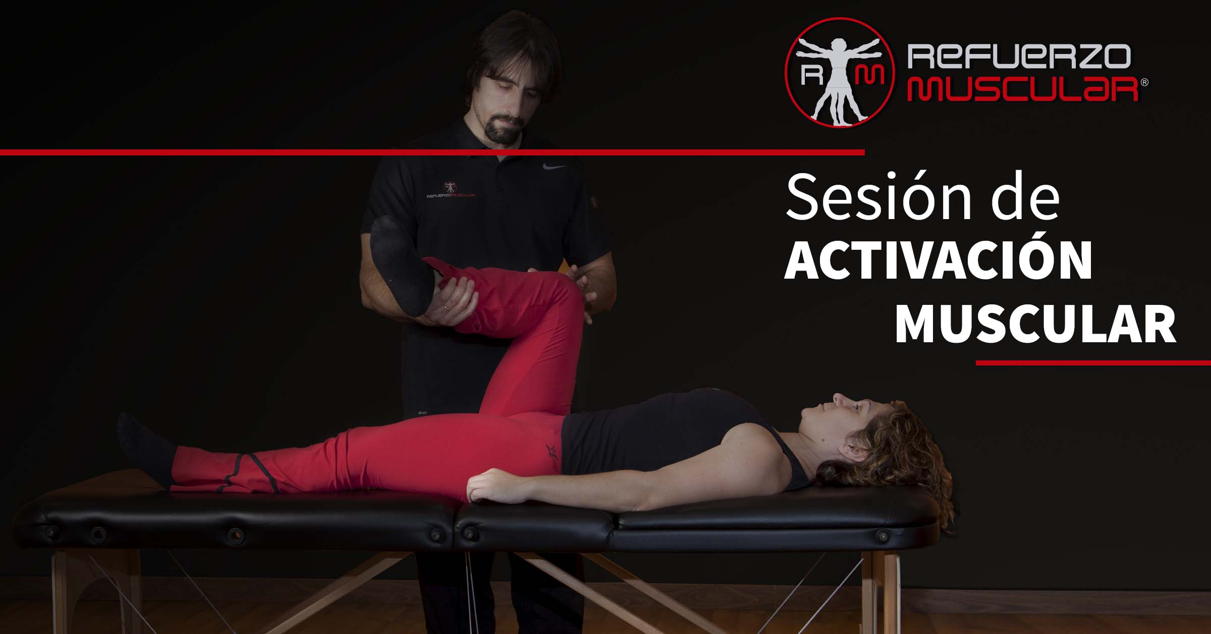 sesión de activación muscular